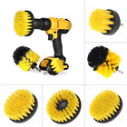 1/3pc Tile Grout Power Scrubber Drill Cleaning Brush Tub Car Carpet Wall Cleaner