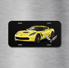 Corvette Stingray Z06 Chevy Chevrolet Vehicle License Plate Front Auto Tag NEW