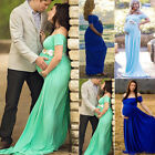 HOT Pregnant Women Maxi Dresses Maternity Gown Photography Props Photo Shoot