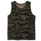 Rothco Men's Tank Tops - Adult Digital, Camo or Solid Pattern Tank Tops
