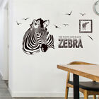 Cartoon Animal Zebra Room Home Decor Removable Wall Stickers Decals Decoration