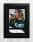 Randy Blythe Lamb of God A4 signed mounted photograph poster. Choice of frame.
