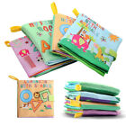 Soft Cloth Baby Book With Rustle Sound Musical Toy Newborn Baby Educational Toys