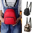 Women Mini Backpack Nylon Shoulder School Travel Bag Small Casual Rucksack Tote