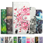 3D Pattern Strap Wallet Card Leather Case Cover Skin For Lenovo XIaomi ASUS
