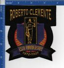 Authentic MLB- Roberto Clements 25th Anniversary patch Dodgers Pirates NOS