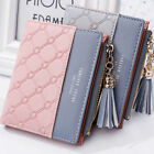 1PC New Wallet Women Coin Bag Leather Ladies Simple Bifold Small Handbag Purse W