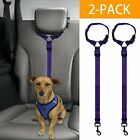 Dog Cat Safety Seat Belt Strap Car Headrest Restraint Vehicle Adjustable Nylon