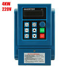 Single Phase/3-Phase VFD Variable Frequency Drive Inverter CNC Motor AC 220/380V
