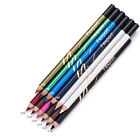 6Pcs Set Waterproof Pencil Lipstick Pen Lip Liner Long Lasting Matte Makeup LT