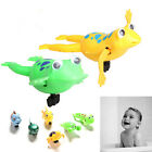 Shower Kids Bath Toys Plastic Baby Wind Up Clockwork Swimming Cartoon Toy *~