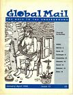 Global Mail The Hole To the Underground #13 January-April 1996 Zine Mail Art