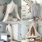 Lace Baby Crib Canopy Bed Mosquito Net Bedding Dome Kids Reading Play Tents