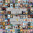 Musicals DVD Lot #1: DISC ONLY - Pick Items to Bundle and Save!