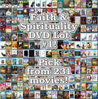 Faith & Spirituality DVD Lot #1: DISC ONLY - Pick Items to Bundle and Save!