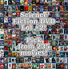Science Fiction DVD Lot #2: DISC ONLY - Pick Items to Bundle and Save!