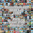 Miscellaneous DVD Lot #18: DISC ONLY - Pick Items to Bundle and Save!