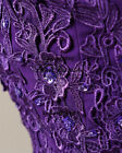 Stock Lace/Chiffon Bridesmaid Dresses Formal Wedding Party Dress Gown Size 6-28