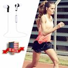 2017 Bluetooth V4.2 Stereo Sports Earphone Headphone Earbuds For iPhone Samsung