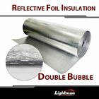 """Bubble Double Foil Thermal Insulation Home House Attic Roof Wall Guard 39""""W"""
