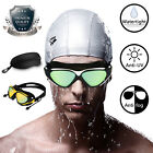 Kyпить Swimming Goggles Anti UV Fog Protection Clear Glasses Earplugs Adjustable Mask на еВаy.соm