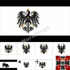 Prussia Flag 3X5FT Kingdom of Prussia Army Royal King Crown Prince Banner Ducal