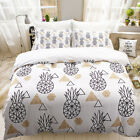Bedroom Printing Duvet Cover Pillowcase Set Bedding Twin Queen King Size