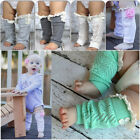 Внешний вид - Baby Girl Lace Button Leg Warmers Toddler Leg Warmers Boot Socks Toppers Cuffs