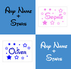 Disney Name Wall Sticker Personalised Walt Vinyl Girls Boys Decal Children Stars