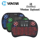 i8 Backlight Mini Wireless Keyboard Touchpad mouse for Kodi Android 8.1 TV Box