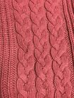 Nautica Cotton Blend Cable Knit Sweater NWT