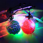 Shake Flying Ball Infrared Induction Colorful LED Disco RC Helicopter kids Toy