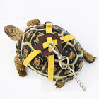 Pet Tortoise Turtle Leather Harness Strap Chest Collar Walking Lead Control Rope
