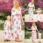 FASHION Family Dress Mother and Daughter Matching Girls Outfits Clothes Dresses