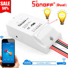 Sonoff Dual 2 Gang Smart Home WiFi Wireless Switch Module For IOS Android APP