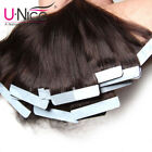 skin weft hair extensions - 18-24inch 7A Tape In 100% Remy Human Hair Extensions Skin Weft Black 20/40pcs US