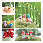 Mushroom House Mini Micro Fairy Garden Craft Dollhouse Ornament Landscape Decor