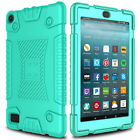 For Amazon Kindle Fire HD 8 7 2017 Case Shockproof Hybrid Rugged Slim TPU Cover