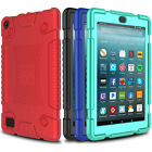 kindle fire hd case amazon - For Amazon Kindle Fire HD 8 7 2017 Case Shockproof Hybrid Rugged Slim TPU Cover