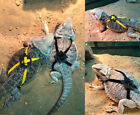 Soft Suede Adjustable Reptile Lizard Harness Leash Adjustable Light Soft Fashion