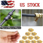 "Brass Misting Nozzles Water Mister Sprinkle For Cooling System 0.012"" 10/24 UNC"