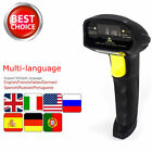 Portable USB Laser Barcode Scanner Bar Code Reader Long Scan Handheld POS XP