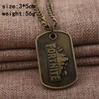 GAME FORTNITE KEYCHAINS NECKLACE METAL