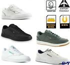 Reebok Slip Resistant LEATHER Sneaker Work Shoes Walking Shoe SHOCK ABSORBING