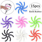 15x Refill Rubber Pads Make Up Tool Replacement Eyelash Curler Circle Cosmeti GS