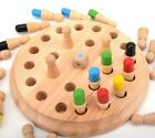 Kid Wooden Milti-Color Memory Training Chess Table Game Education Toy
