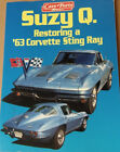 Restoring a 1963 Corvete Sting Ray book manual vintage car parts