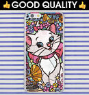 Stained Glass Disney Marie White Cat Kitten Apple iPhone Back Case Cover