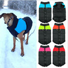 USA Waterproof Small/ Large Pet Dog Clothes Winter Warm Padded Coat Vest Jacket