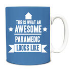 This is what an AWESOME Paramedic Looks like Mug Gift idea coffee cup 147